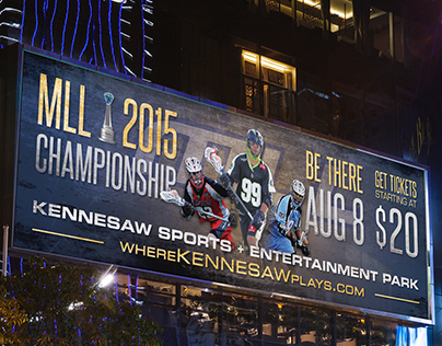 2015 MLL Championship Marketing Campaign