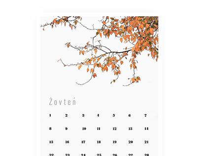 2018 kalendar [Ukrainian latin]