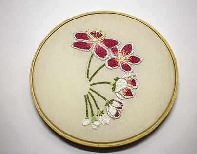 Stop-motion broderie - Lily