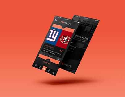 TicketSwipe™ - Mobile App - Events UI