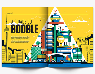 A cidade do Google (Superinteressante Magazine)