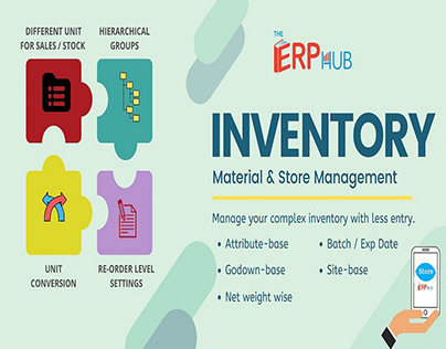Inventory Management Software Service by TheERPHub
