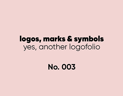 Yes, another logofolio · 2018 · 2019