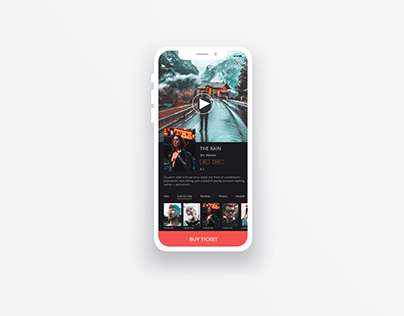 Movie Ticketing App | UI Design