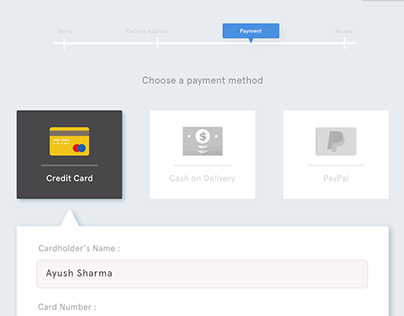 PayCheck - Payment Checkout Page