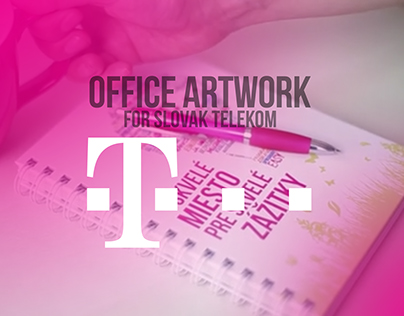 Slovak Telekom, ARTWORK FOR OFFICES