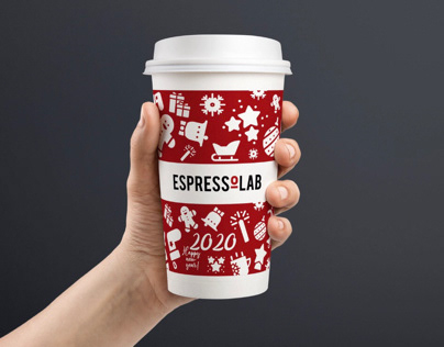 Packaging Design Set for EspressoLab