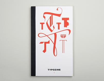 Labirynt typeface for Typozine