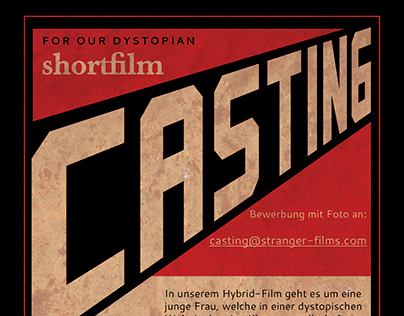 Casting Call for our short film
