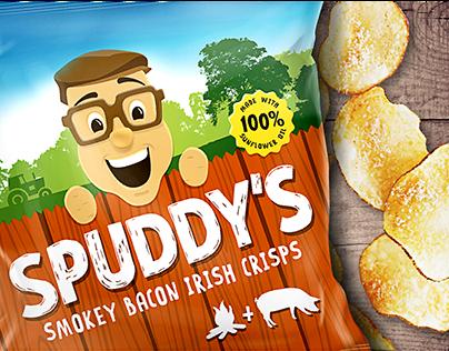 Crisps Packaging redesign
