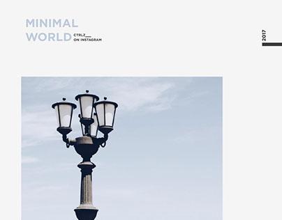 Minimal World || Photography
