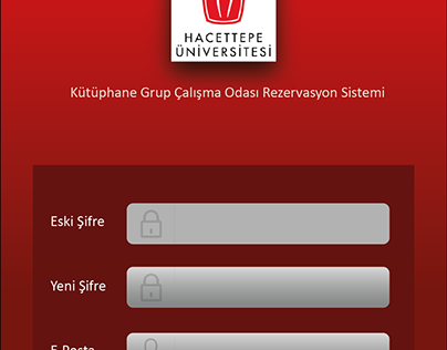 Hacettepe Uni. Library Study Room Reservation System
