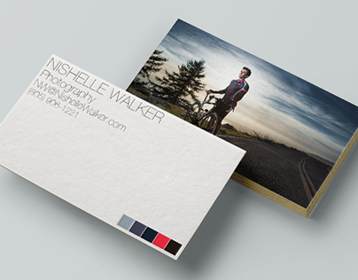 Nishelle Business Cards