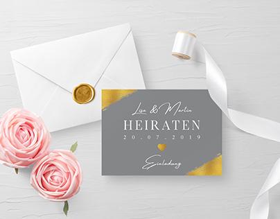 Hochzeitspapeterie by Florian Wille Design