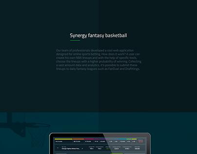 Synergy fantasy basketball