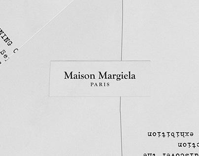 Maison Margiela Invite
