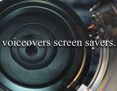 professional voiceovers screen savers.