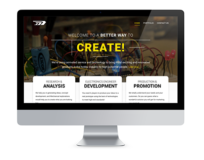 DMDL Website Design