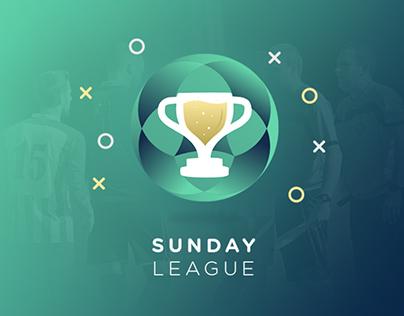 Sunday League | UX-UI Design - Travail de fin d'études