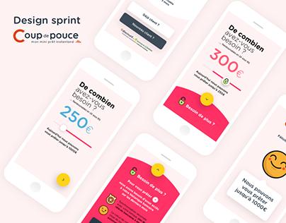 Design Sprint Coup de Pouce App