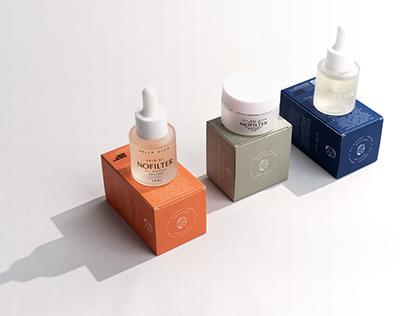 NOFILTER - branding, visual identity, packaging.