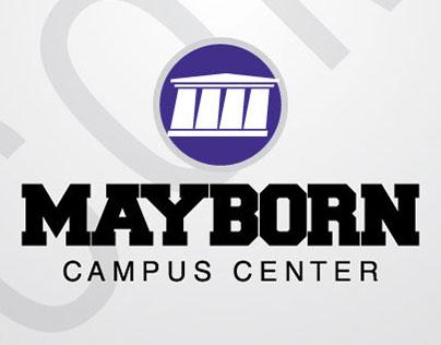 Mayborn Campus Center Logo Design, 2014