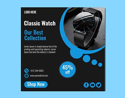 Black Watch Instagram Banner Post