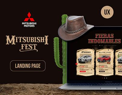 Landing Page - Mitsubishi