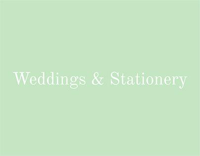 Wedding Invitation Suites & Paper Goods