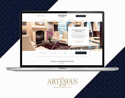 Artesian Hotel Website Update 2019