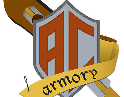 ac armory brand identity