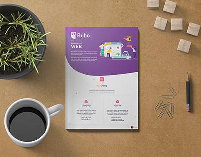 Brochure Desarrollo Web de Digital Buho