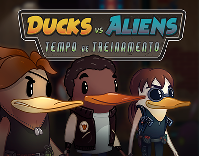 Game Ducks vs Aliens
