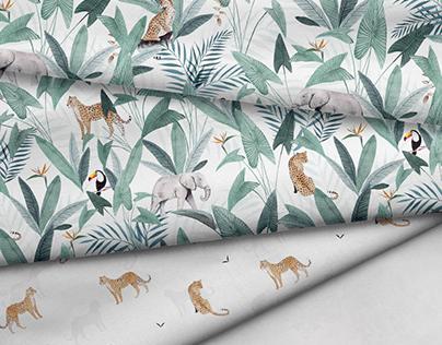 Jungle, Leopardus | Textile Print Designs