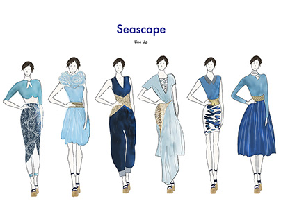 FASHION DESIGN | 'Seascape' Collection