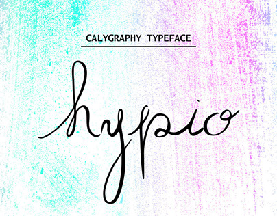 HIPIO - Calygraphy Typeface Project