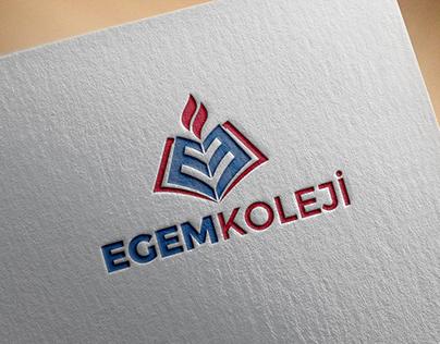 Egem Koleji Kurumsal Logo Tasarımı