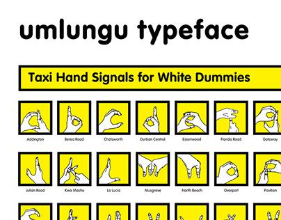 Umlungu Typeface