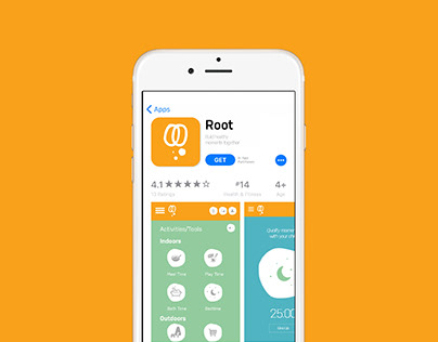 Mobile Application Design - root