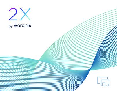 Acronis 2X Identity & Website
