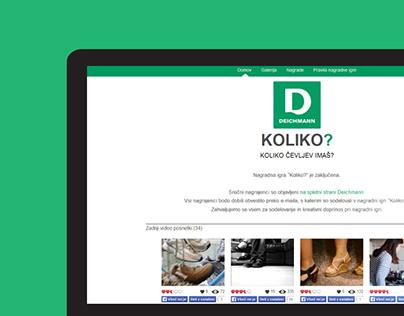 Webpage 'Koliko?'