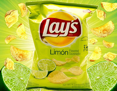 Advertisement of lays