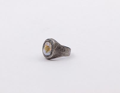 """""""Perla Barroca"""" Ring"""
