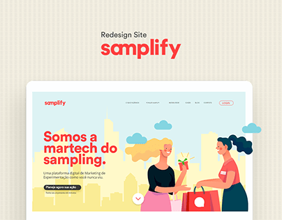 Redesign Site - Samplify
