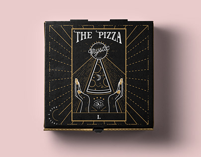Mystic Pizza   Branding & Illustration
