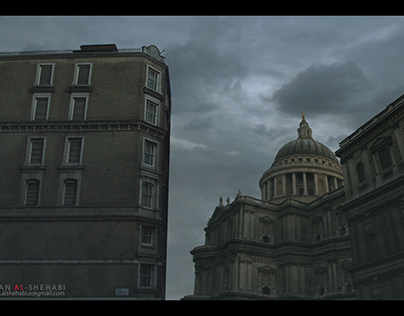 Building Matte Painting & Projection Camera.