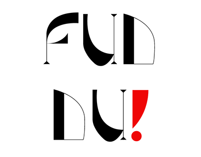 Fuddu ( a display font)