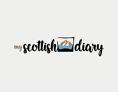 My Scottish Diary Logo (animated)