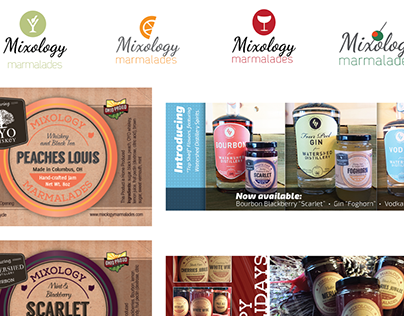 Mixology Marmalades Branding and Labels