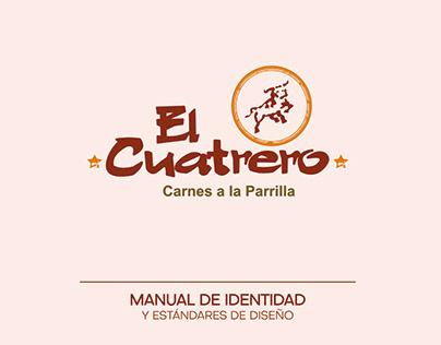 MANUAL DE MARCA - EL CUATRERO PARRILLAS